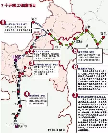 老渝黔铁路自重庆西站经綦江,遵义,息烽至贵阳北站,全长347公里.