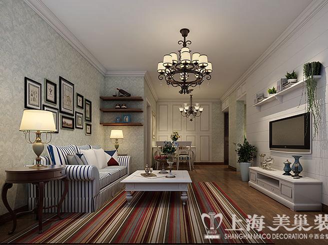 简洁怀旧,实用舒适;暗棕,土黄为主的自然色彩;美式家具较意式和法式图片