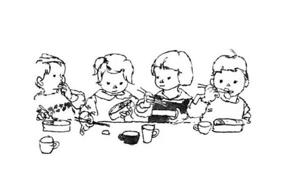 动漫 简笔画 卡通 漫画 手绘 头像 线稿 600_378