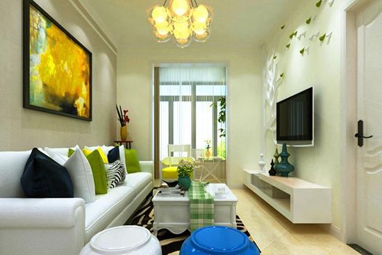 89平三室一厅装修设计