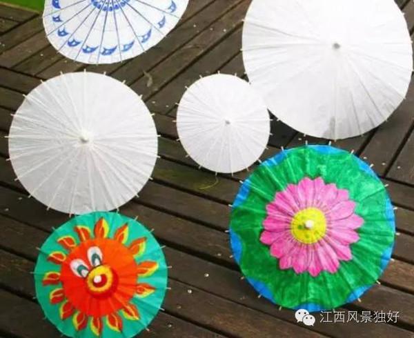 手绘油纸伞等节目