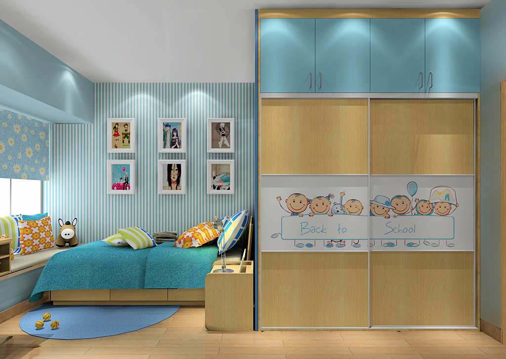 儿童板式家具板式家具绘图图片13