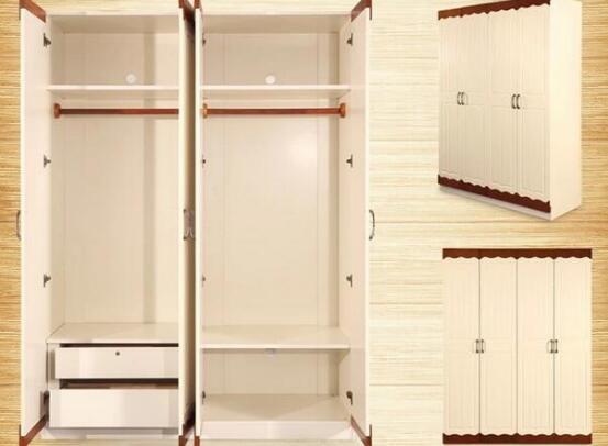 双开推拉门衣柜内部合理设计图