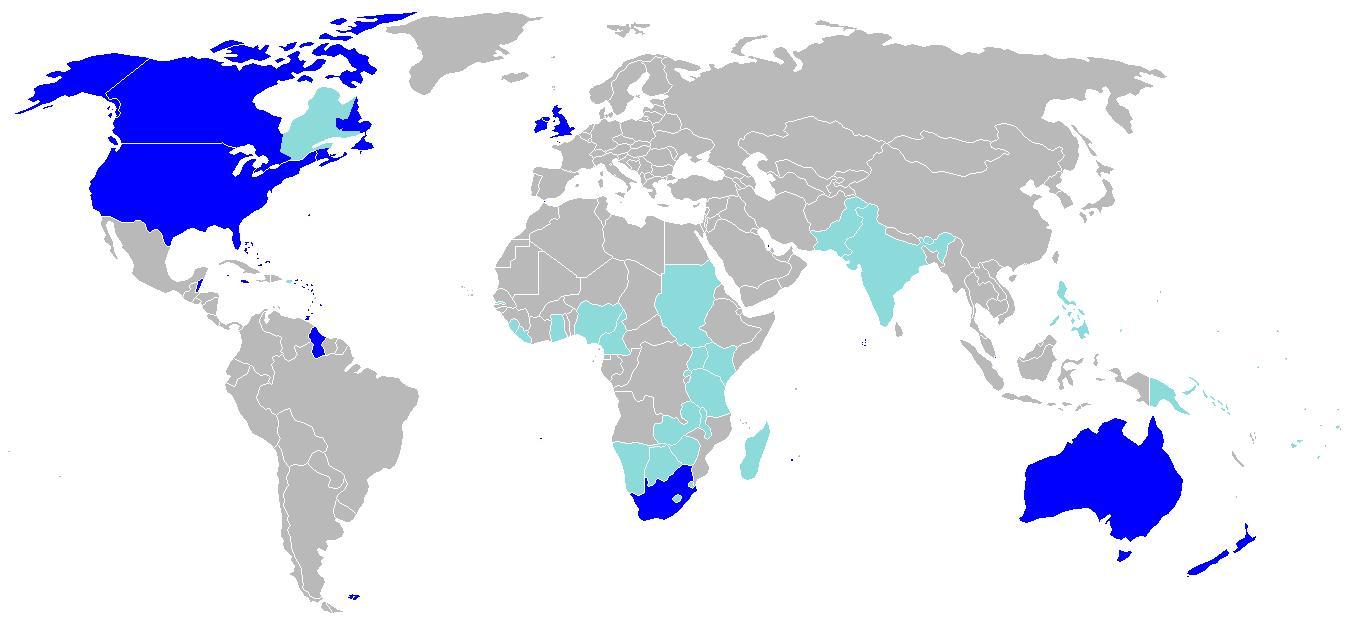 英文国家和地区图片