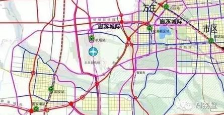 北已确定第二条地铁对接北京图片