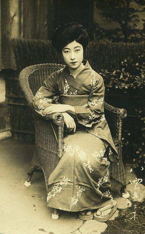 旧时代的日本淑女,颠覆我的认知