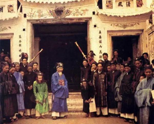 旧中国彩色照片_初法国人AlbertKahn拍摄的旧中国彩色照片30