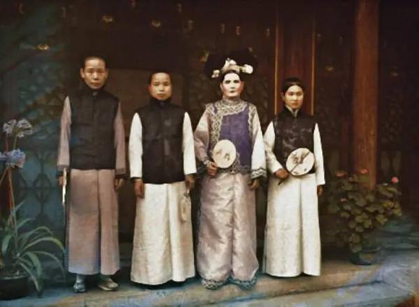 旧中国彩色照片_回顾100年前的旧中国彩色照片尘封的岁月