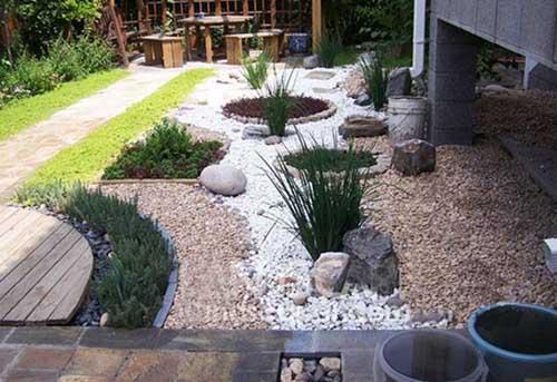 别墅庭院景观的铺装设计