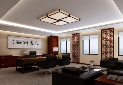 国内最常见的三种办公室装修风格效果图图片