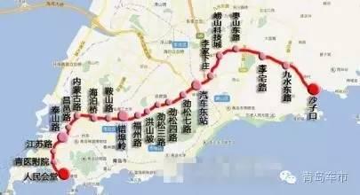 青岛地铁15号线线路图片 青岛地铁15号线线路图片大全 社会热点图片 图片