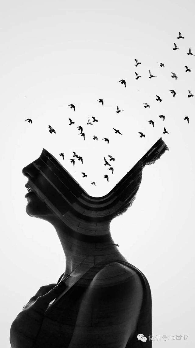 欧美图片黑白创意手机壁纸