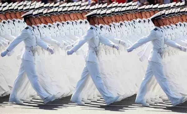 海军团体照