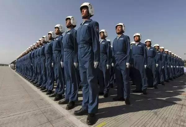 空军团体照