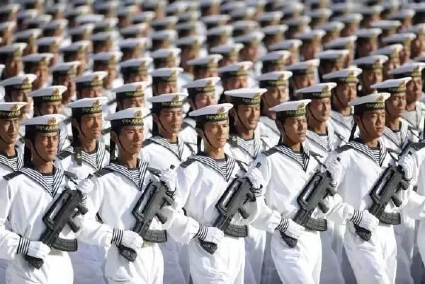 海军训练团体照