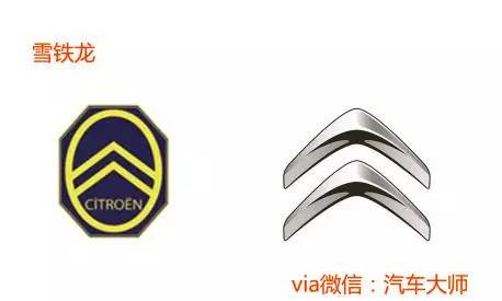 汽车创始之初的Logo VS 最新的Logo 脑洞大开
