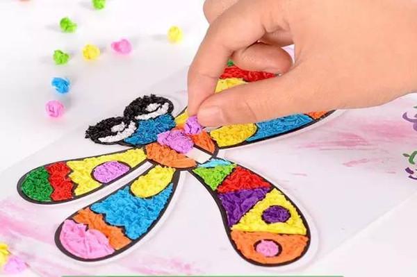 幼儿园揉纸画,搓纸画大全,幼师们快来收藏!