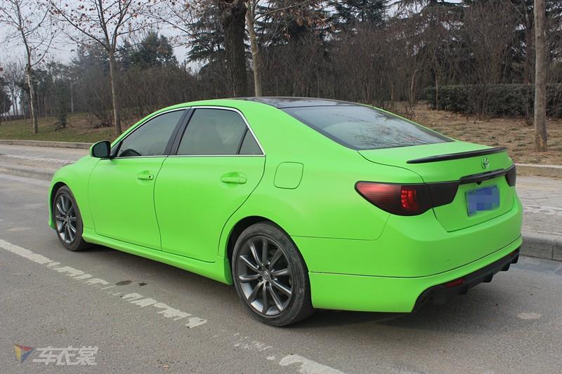 完美reiz锐志采用了fr轿车的更佳车身比例与完美结构