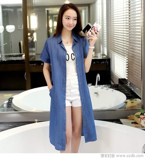 穿不腻的夏季单品衬衫裙:衬衫裙适合什么人穿