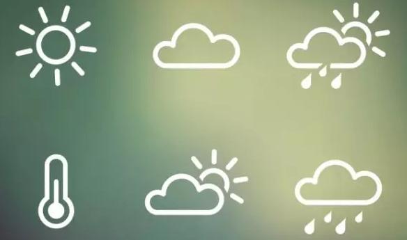 上的箭头是什么天气符号