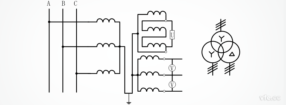 【涨知识】电压互感器接线图及方式