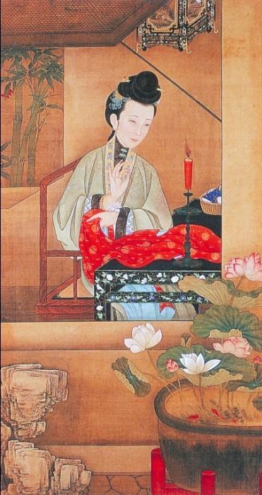 清宫旧藏十二美人图
