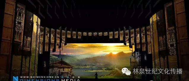 太阳西下的山间小路直通远处山峰,画面柔和温暖.通过与现场灯光