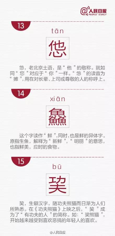 生僻字 教育 热图5
