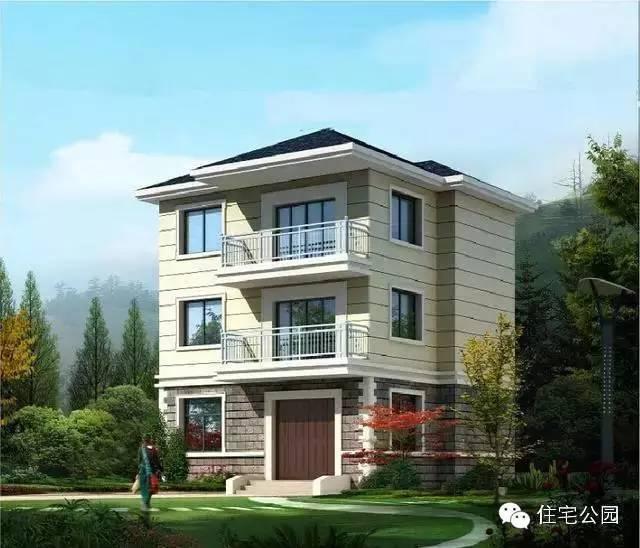 新农村自建房 9米x8米