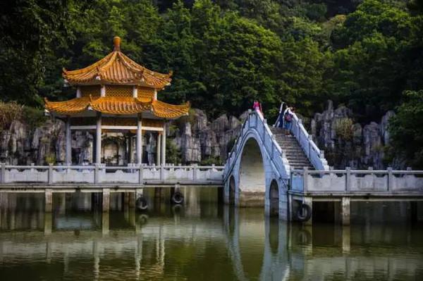 求水山公园-万万没想到, 深圳第一美女 居然在龙岗图片