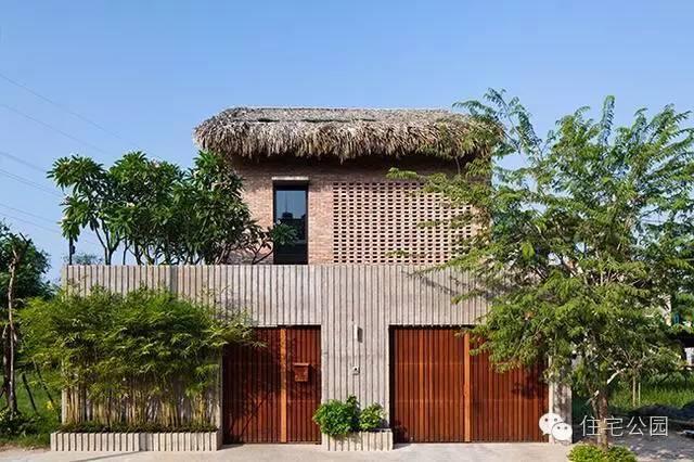 酒店红砖茅草房这样把豪华别墅秒成渣巴厘岛住农村还是别墅图片