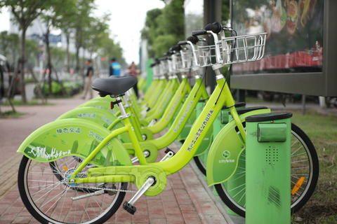 眉山将要有公共自行车交通啦