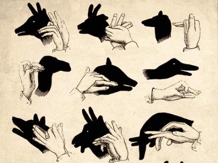 玩创意:手影全集(很难找哦,留下来教孩子吧!)