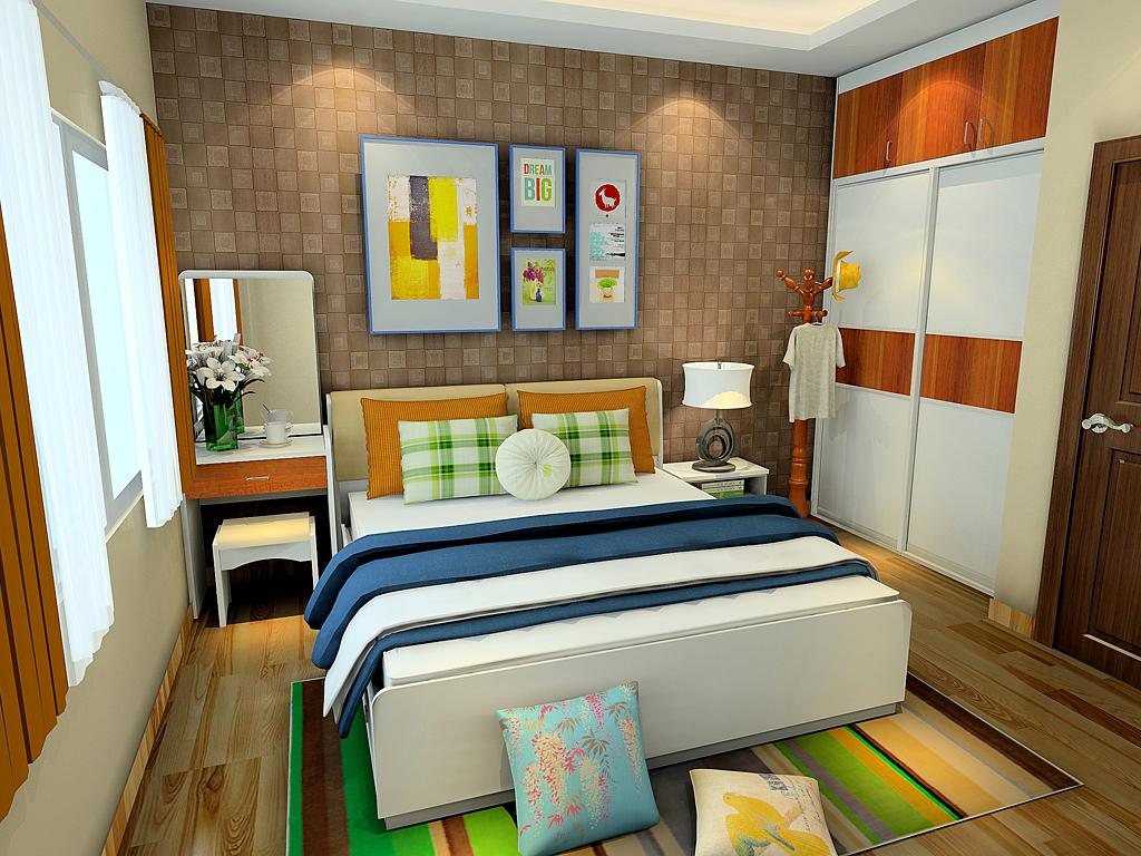 背景墙 房间 家居 起居室 设计 卧室 卧室装修 现代 装修 1024_768