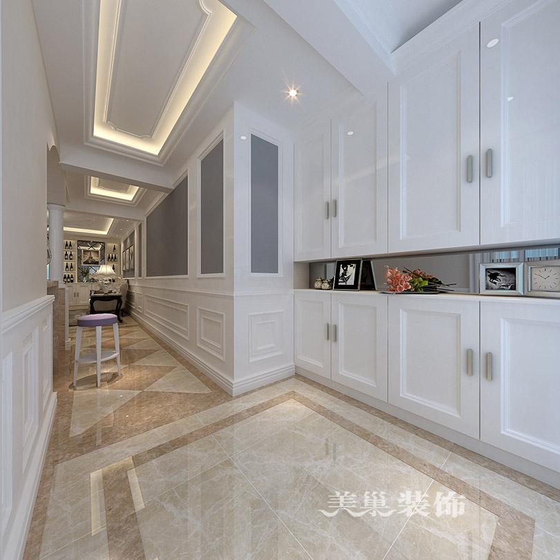 源升金锣湾装修效果图 三室两厅开放式厨房设计图片