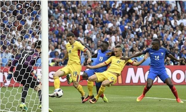2016年法国欧洲杯a组首轮战报