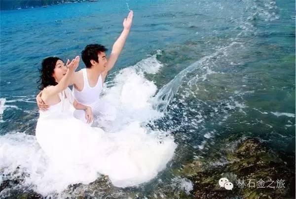 原创:三亚拍婚纱亮比基尼