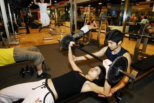 私人健身教练培训班强健训练