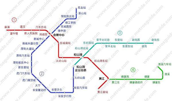 东莞地铁1号线今开工 东莞这些镇的小伙伴爽爆了图片