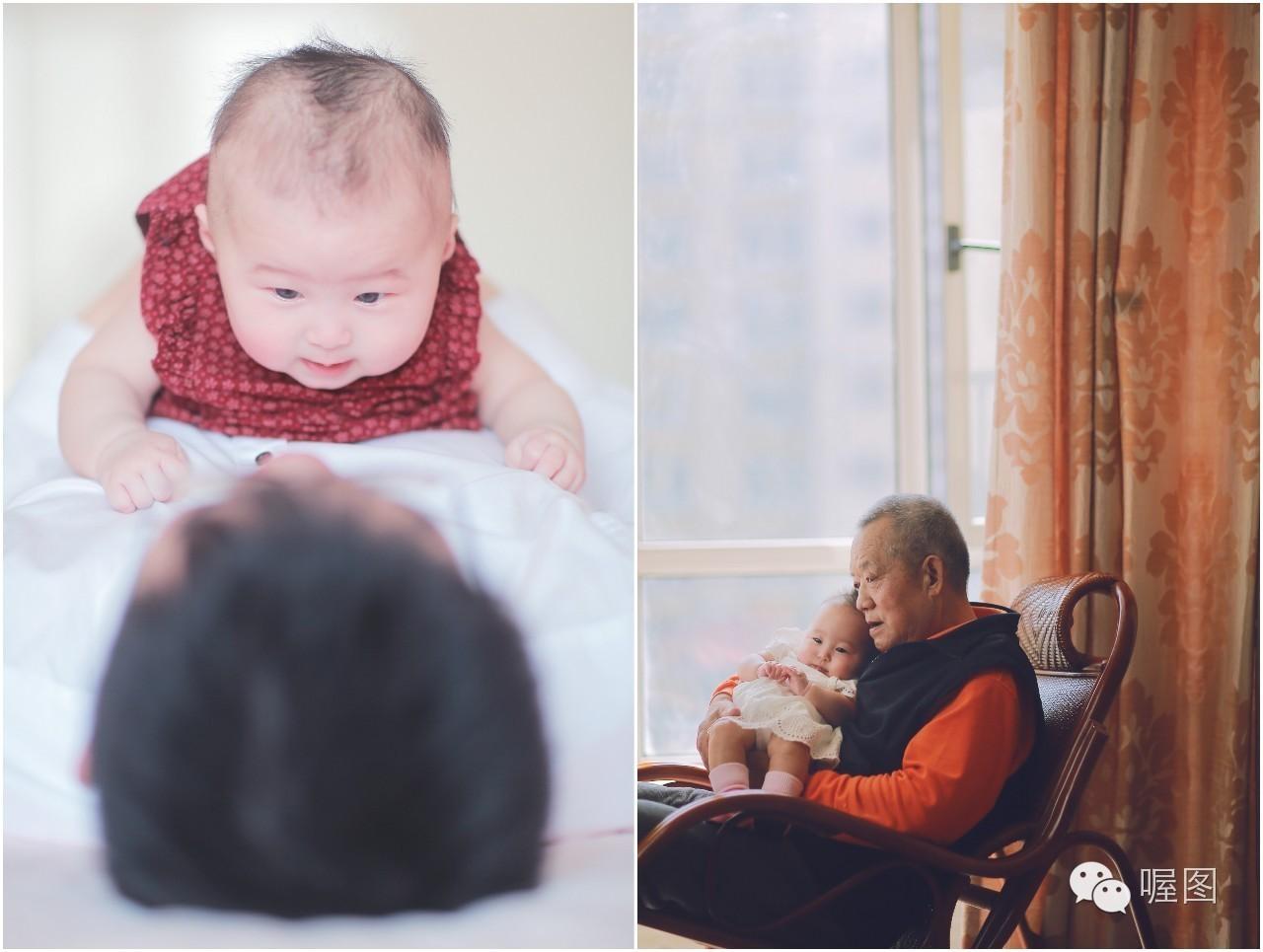 故事三、一周岁的亲子照-儿童写真作品,与爱有关的影像故事