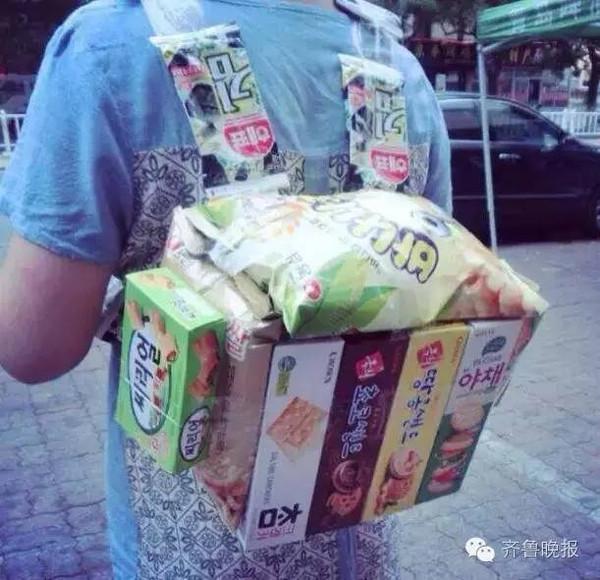 惊爆魔都的零食背包来啦,今夏最潮街拍神器!图片
