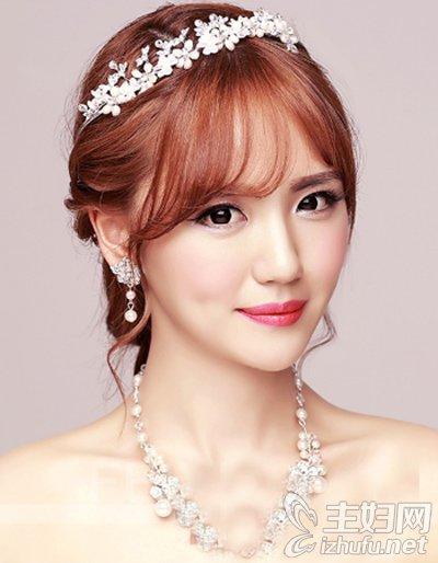 2016韩式新娘发型推荐
