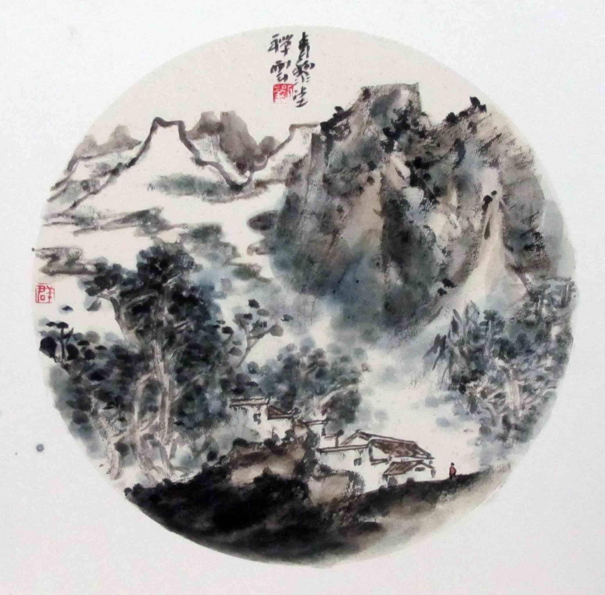 安徽淮北刘群:中国当代具有影响力的山水画家图片