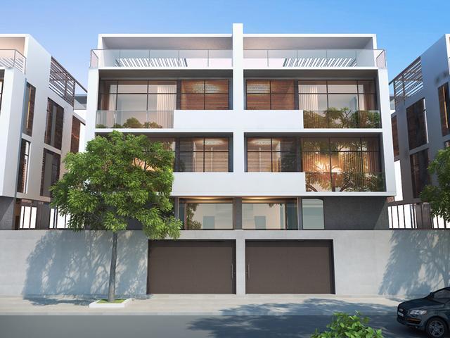 新农村3层自建房 10米宽宅地 现代风格含平面图新农村自建房的主流