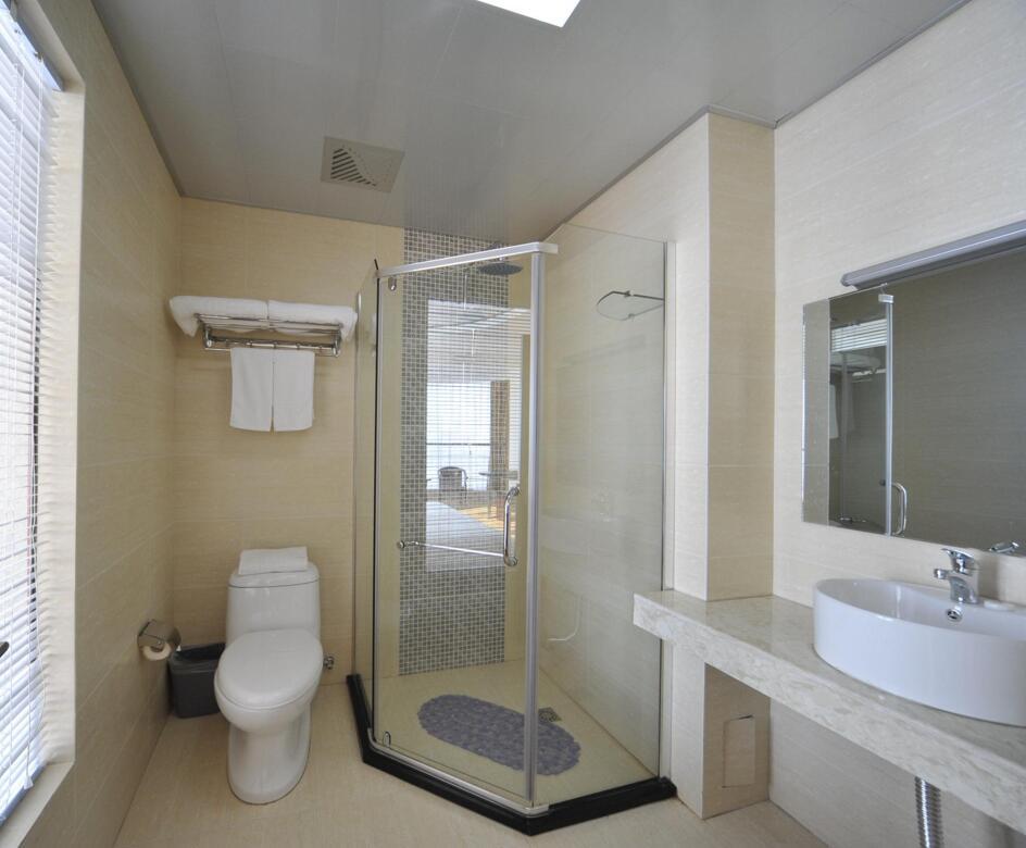 卫生间隐形隔断卫生间移门隔断图片9