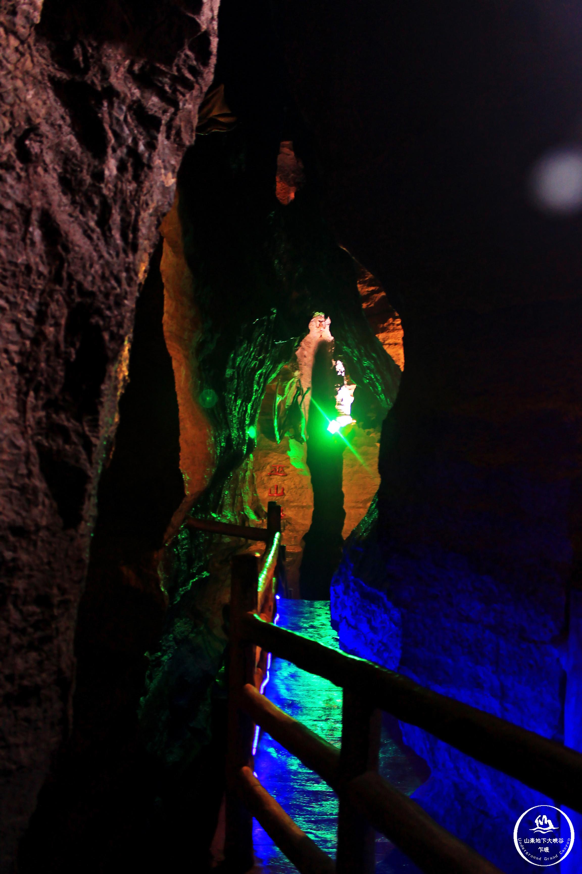 【夏天这样玩】地下大峡谷,一半透心凉一半是
