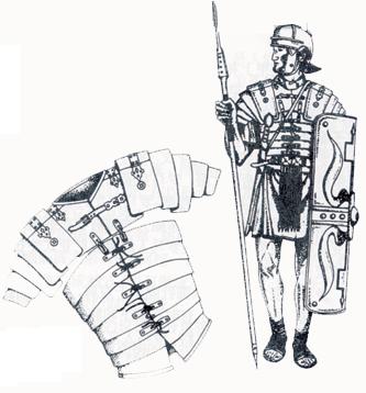古代军人手绘图
