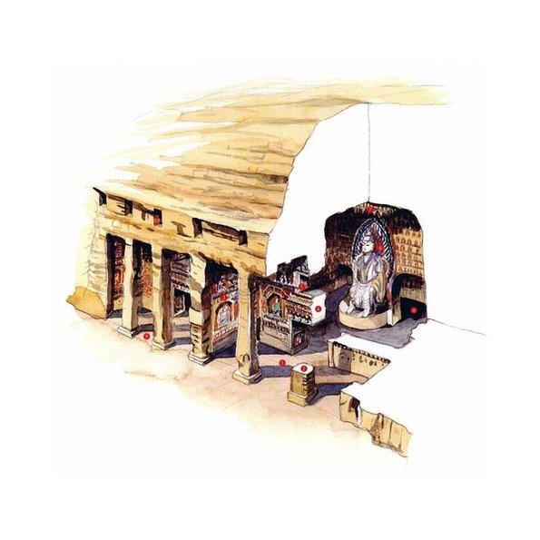 【手绘】李乾朗古建筑手绘《穿墙透壁》