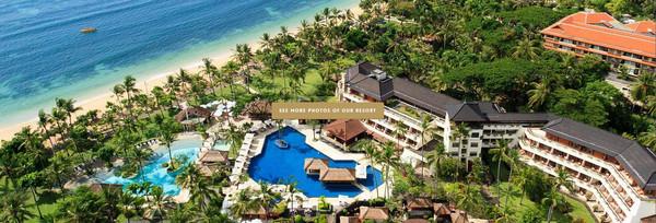 奢华尊享5099|巴厘岛努沙杜瓦酒店海滩建筑设计报告厅图片