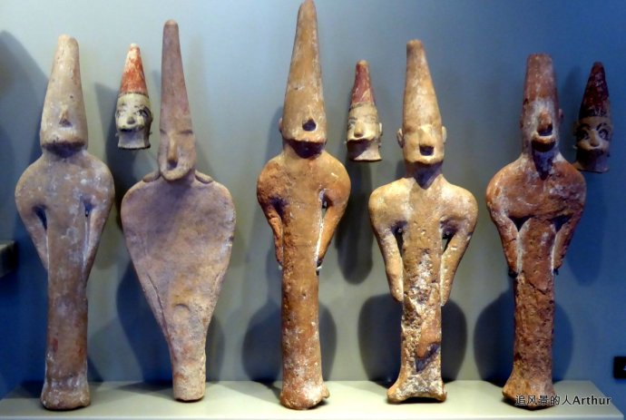 古埃及和人类史前和早期历史文明的收藏品图片